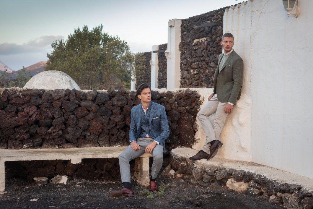 Český výrobce obleků Blažek představuje novou kolekci společně s fotografem Robertem Vanem