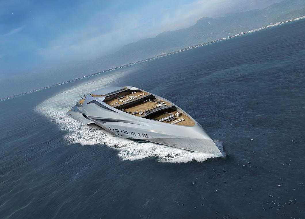 Tohle je nová největší soukromá jachta na světě, která měří neuvěřitelných 229 metrů. Dokážete si na ní představit dovolenou?