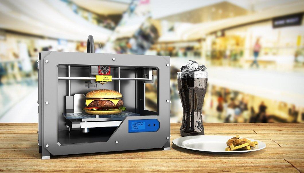 Již koncem roku by se mělo důchodcům servírovat vytištěné 3D jídlo
