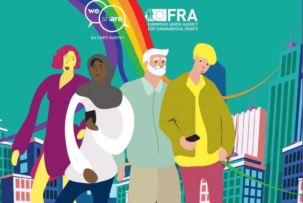 Zlepšit postavení LGBT lidí ve společnosti můžete i vy – zapojte se do rozsáhlého evropského průzkumu