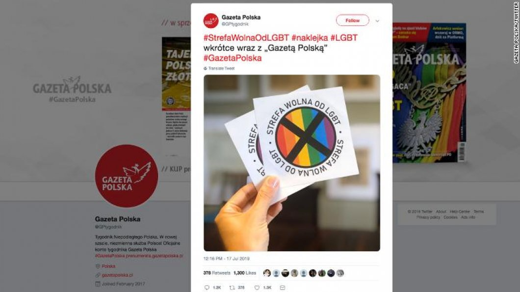 """V Polsku plánují zóny bez leseb a gayů. """"Budou následovat duhové pásky na ruku a tábory pro LGBT lidi?"""" ptají se odpůrci"""