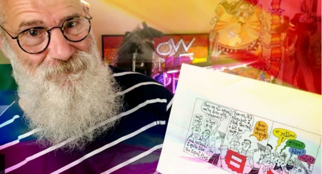 Ilustrátor celý život kreslil komiksy týkající se LGBT lidí. V obrázcích zmapoval 50 let – od AIDS krize až po stejnopohlavní sňatky