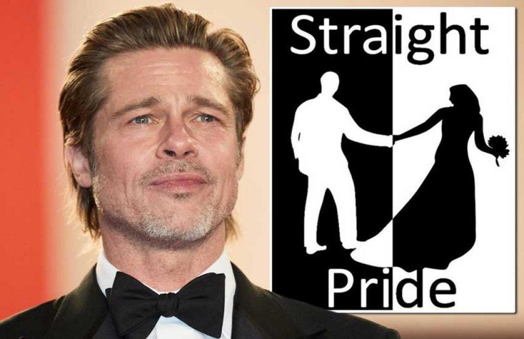 Brad Pitt odmítl podpořit pochod za práva heterosexuálů. Akce skončila fiaskem