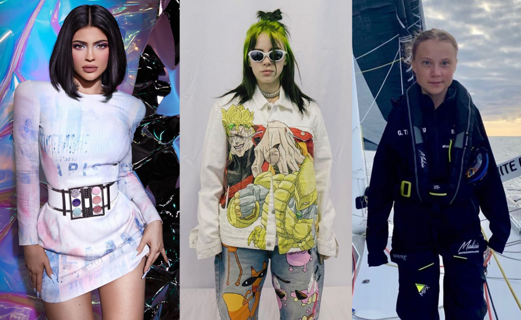 Billie Eilish, Kylie Jenner nebo Greta Thunberg aneb Mladé ženy, které mění svět