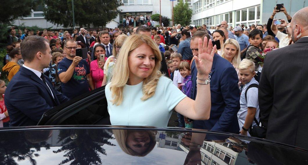 Slovenská prezidentka Zuzana Čaputová je 80. nejvlivnější ženou světa