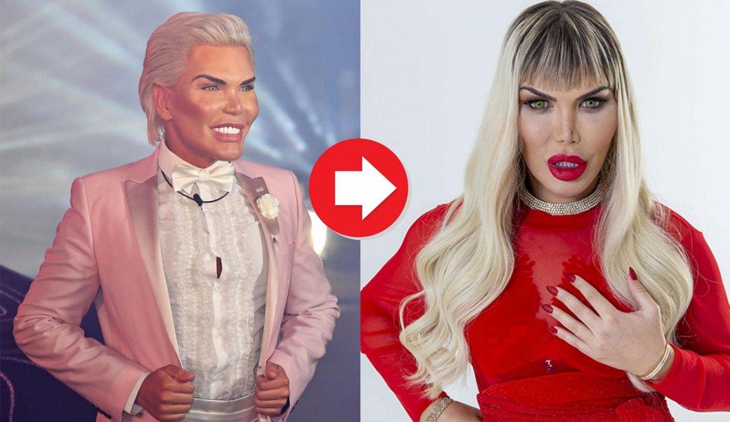 Živoucí Ken se cítí být Barbie. Rodrigo Alves se proměňuje v ženu