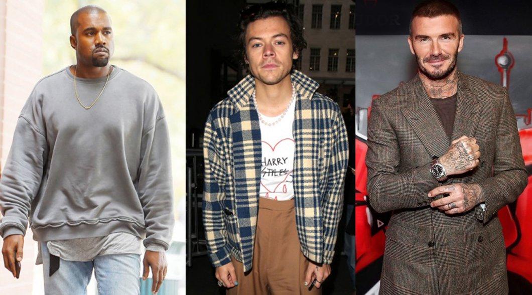 FOTO: Muži, kteří mění pánskou módu a určují zbrusu nový styl. Čím oslňuje fotbalista či rapper s image kokainového dealera?