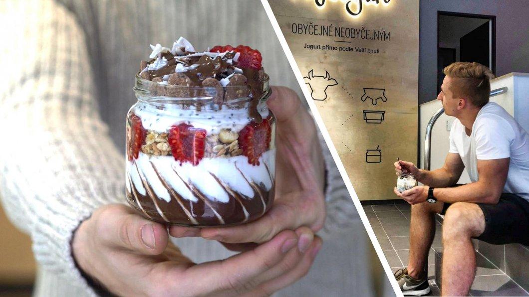 Patrik Fuska (21) podniká od 14 let, dnes prodává nejdražší jogurty v Česku