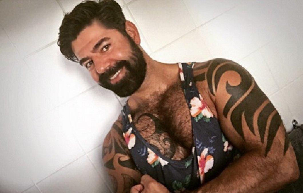 Chlupatý gay medvěd sex